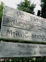 Salem Witches Sign