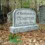Ravenswood Cemetery Sign3