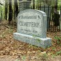 Ravenswood Cemetery Sign4
