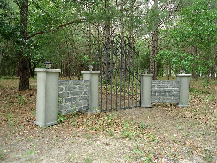 Haunted Cemetery Lighted Stone Walls Evilsoulstudios Com